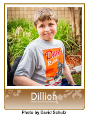 Picture of Dillion in Heart Gallery Adoption