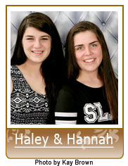 Picture of Haley and Hannah in Heart Gallery Adoption
